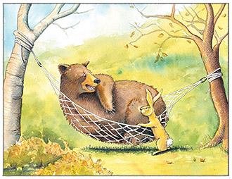 button hammock